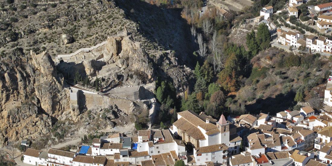 Vista aérea de Castril