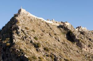 Castillo, muralla oeste