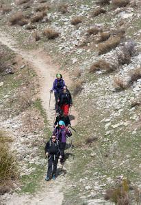 Senderismo en la Sierra de Castril
