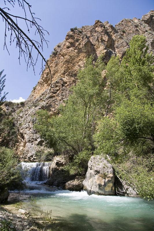 El río Castril tras La Cerrada